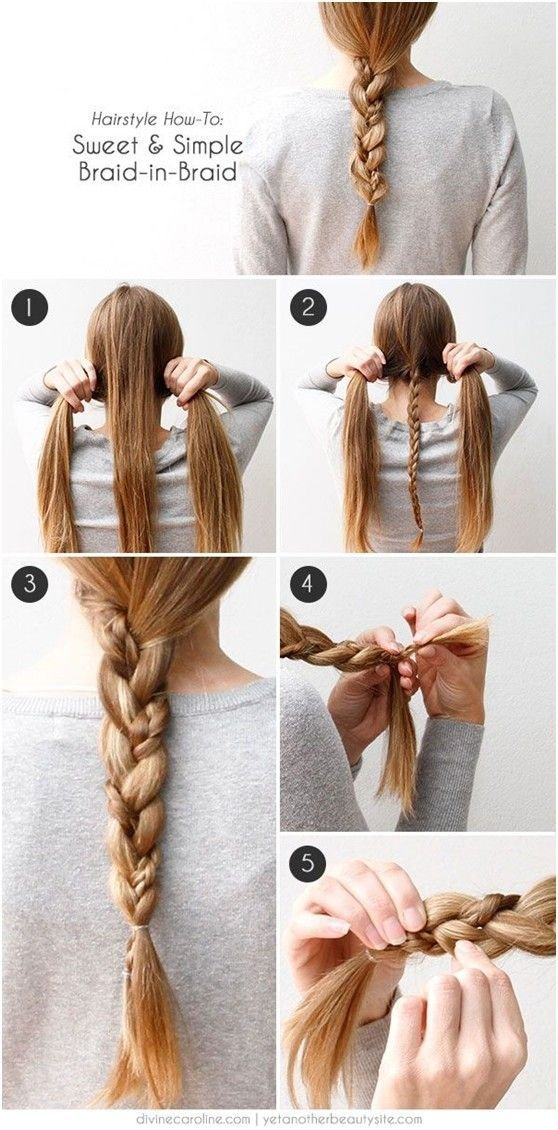 The Best 20 Cute And Easy Braided Hairstyle Tutorials Pictures