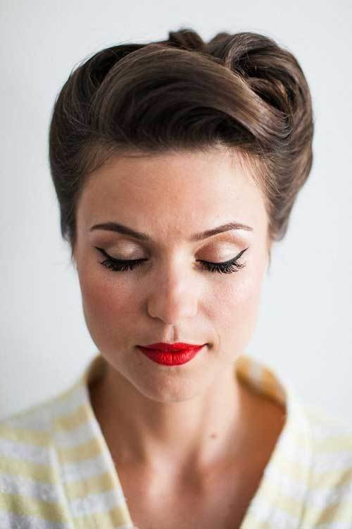 The Best 50S Hairstyles For Short Hair The Best Short Hairstyles Pictures