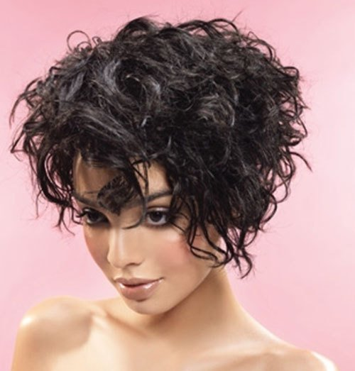 The Best 16 Short Hairstyles For Thick Curly Hair Crazyforus Pictures