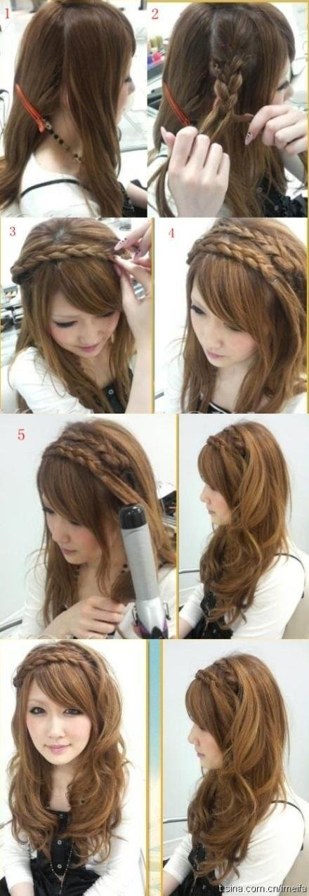 The Best 20 Beautiful Hairstyles For Long Hair Step By Step Pictures