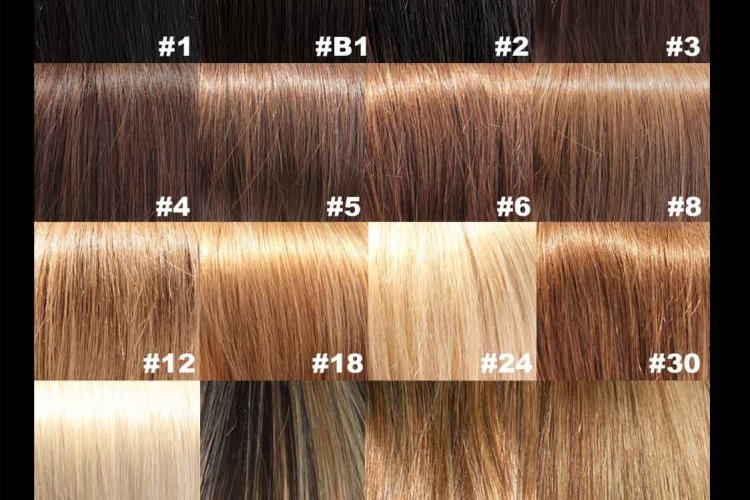 The Best Red Hair Color Brown Colors Chart Dark Medium Hair Pictures