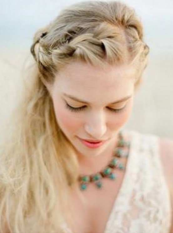 The Best Braided Wedding Hairstyles For Long Hair Weddings By Lilly Pictures