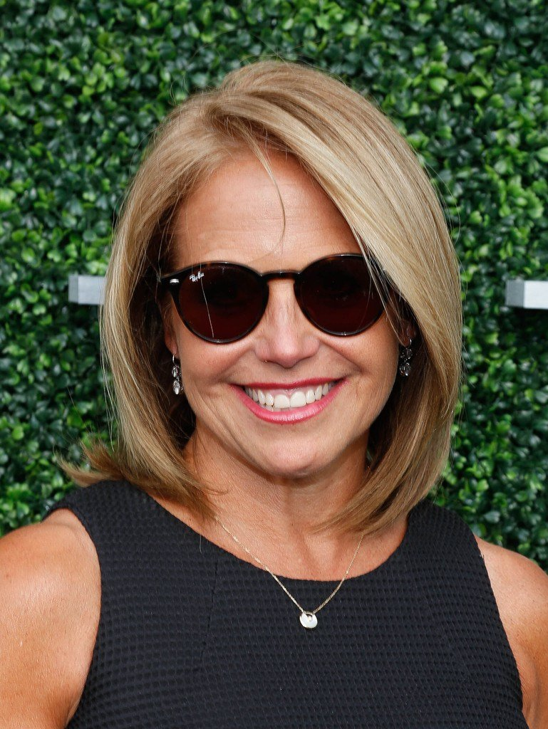 The Best Katie Couric Bob Short Hairstyles Lookbook Stylebistro Pictures