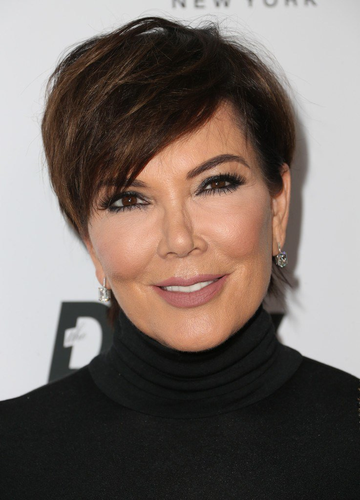 The Best Kris Jenner Short Hairstyles Lookbook Stylebistro Pictures