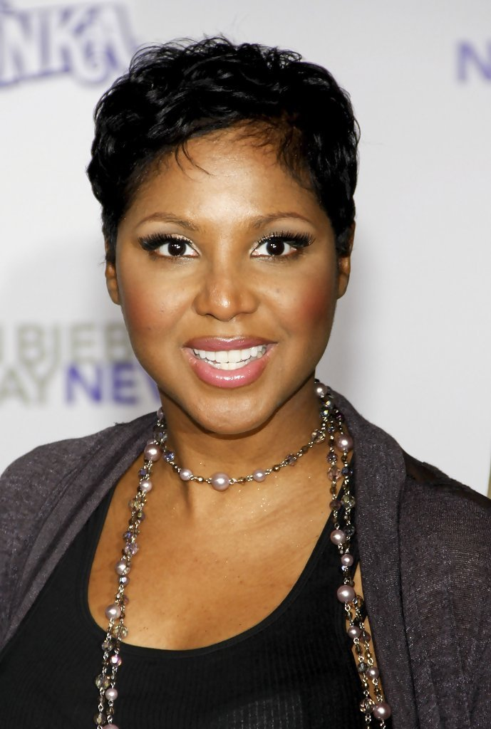 The Best Toni Braxton Celebrity Black Hair Styles Pictures