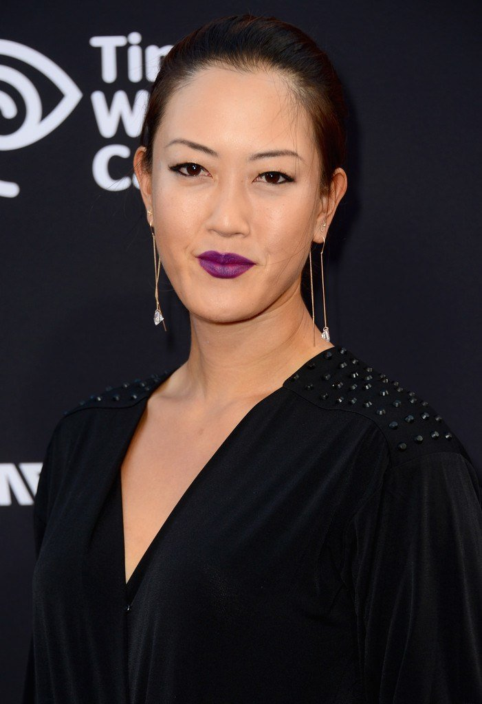 The Best Michelle Wie Berry Lipstick Michelle Wie Looks Stylebistro Pictures