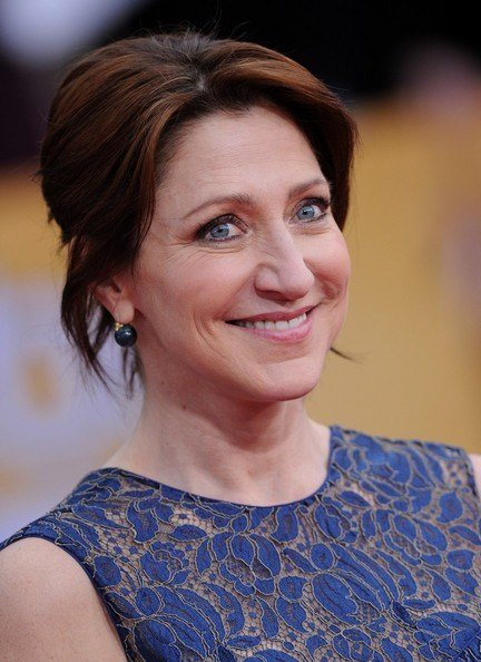 The Best Edie Falco S Easy Updo Haute Hairstyles For Women Over Pictures