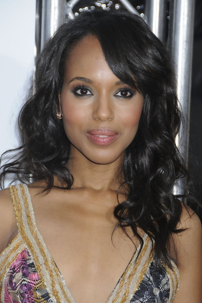 The Best Kerry Washington Celebrity Black Hair Styles Pictures