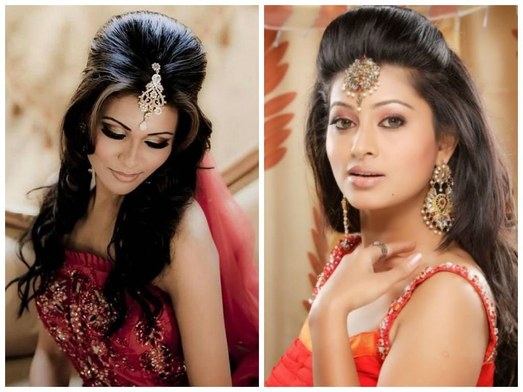 The Best Indian Wedding Hairstyle Ideas For Medium Length Hair Pictures