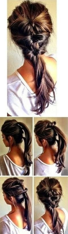 The Best 7 Super Cute Everyday Hairstyles For Medium Length Hair Pictures