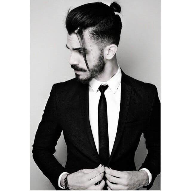 The Best Latest Men S Hairstyles The Top Knot Pictures