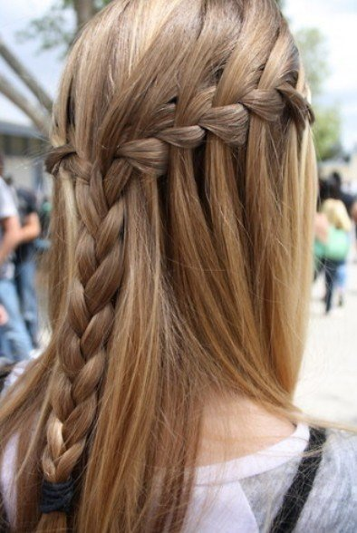 The Best Waterfall Braid Hairstyles Weekly Pictures
