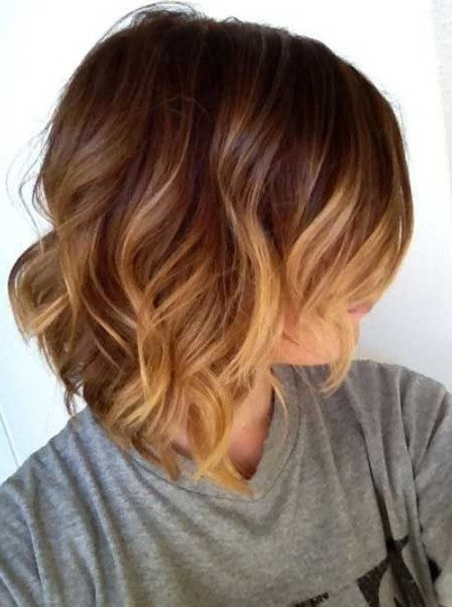 The Best 40 Short Ombre Hair Cuts For Women – Hottest Ombre Hair Colors Pictures