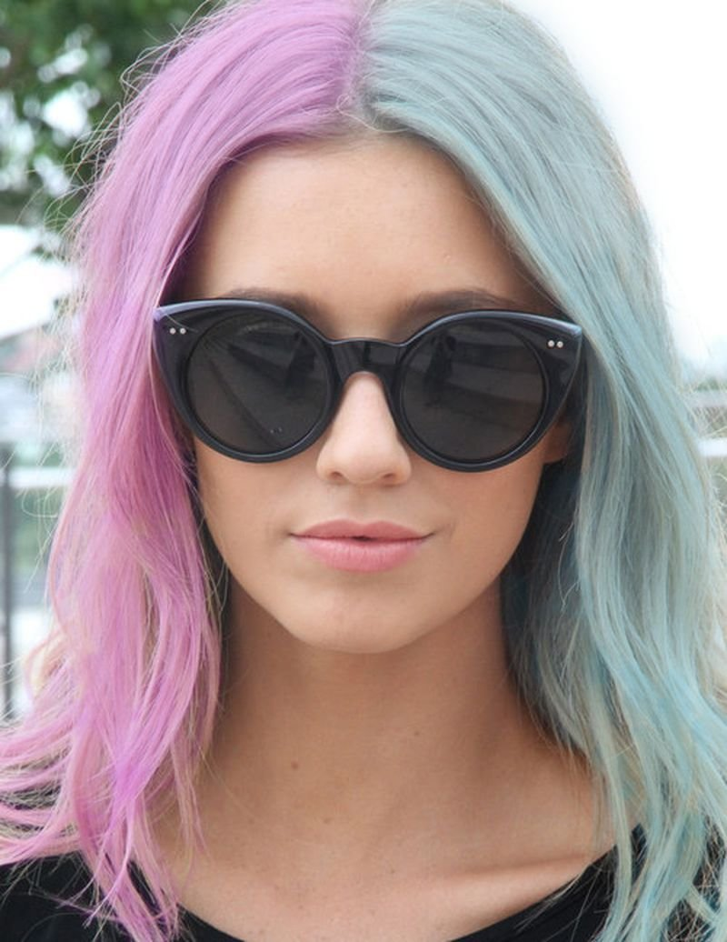 The Best 25 Amazing Two Tone Hair Styles Trendy Hair Color Ideas Pictures