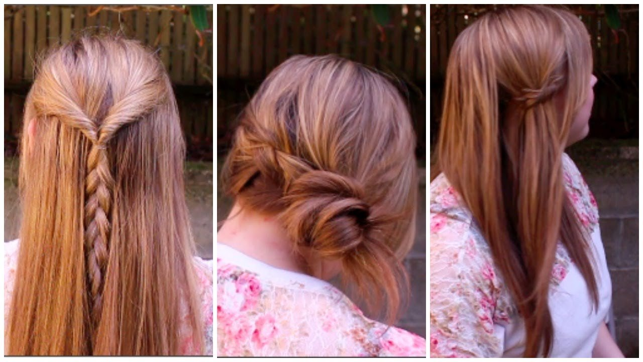 The Best Easy Spring Braided Hairstyles Youtube Pictures