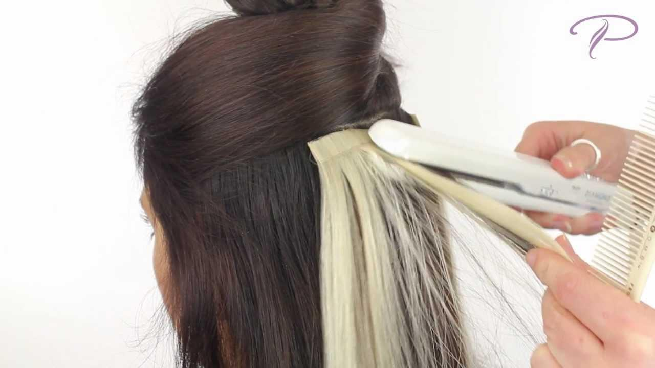 The Best Tape Hair Extensions Install And Removal Youtube Pictures