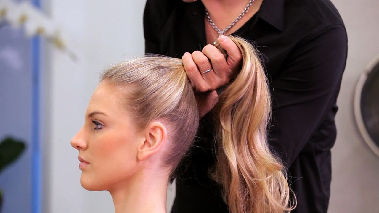 The Best How To Do A High Ponytail Long Hairstyles Youtube Pictures