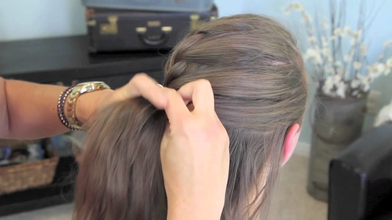 The Best French Twist Into Rope Braid Back To School Cute Girls Pictures