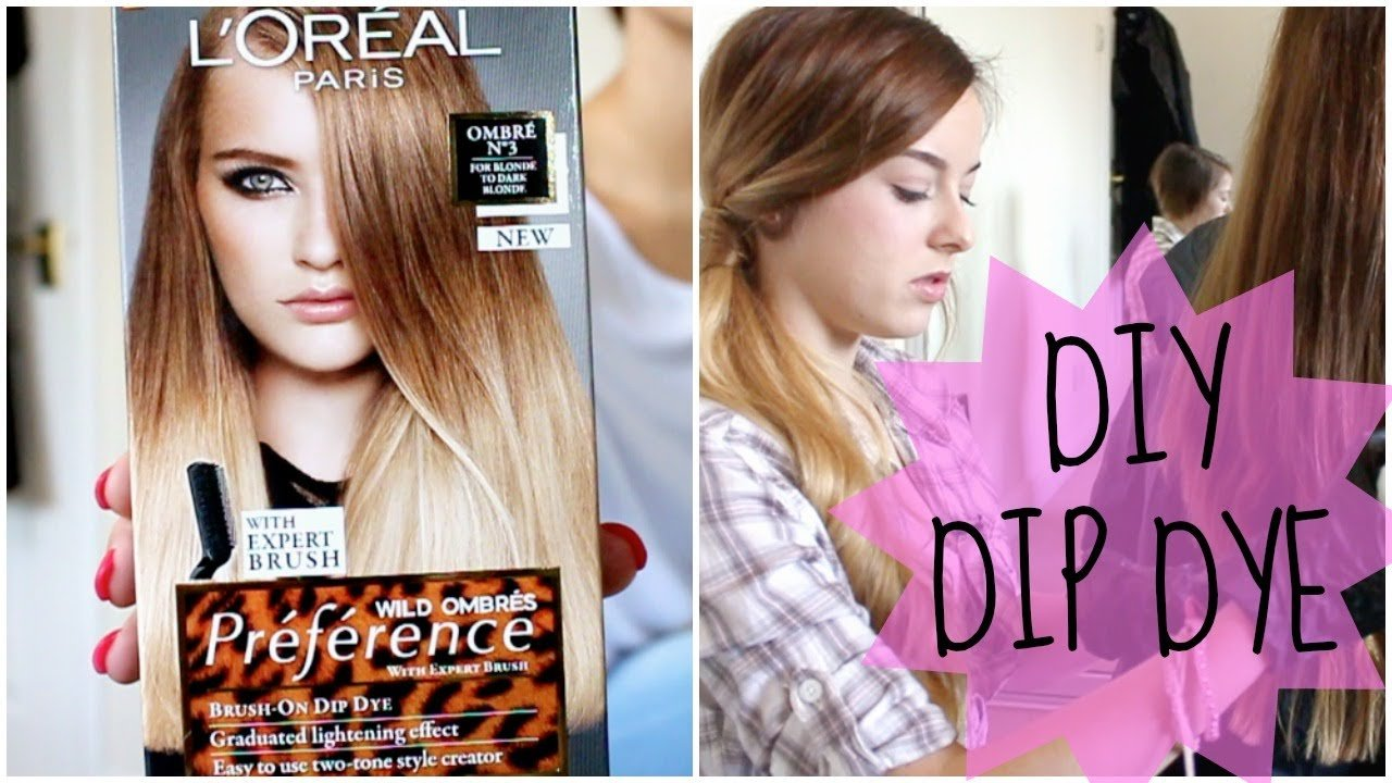 The Best How To Diy Natural Hair Dip Dye Ombre Youtube Pictures