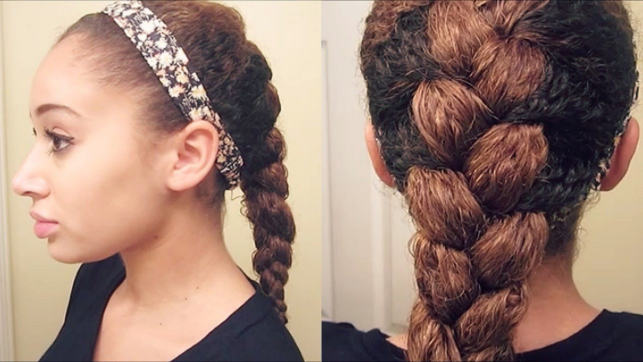 The Best How To French Braid Curly Hair Youtube Pictures