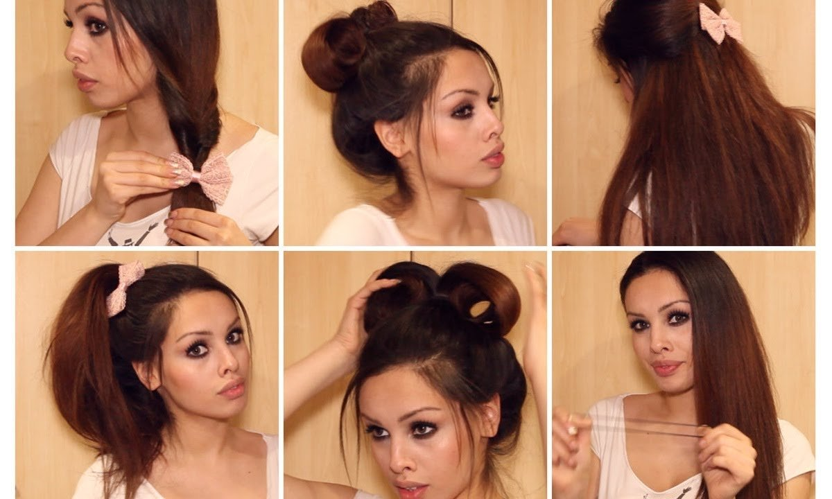 The Best Running Late Quick Easy Hairstyles For School Pictures