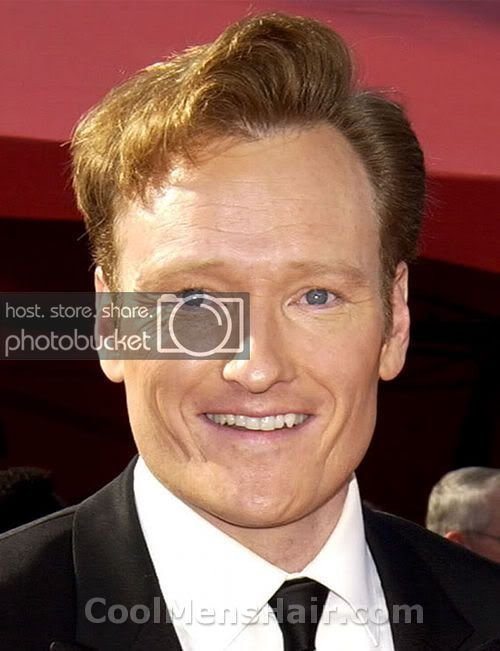 The Best Conan O'brien Hairstyle – Cool Men S Hair Pictures