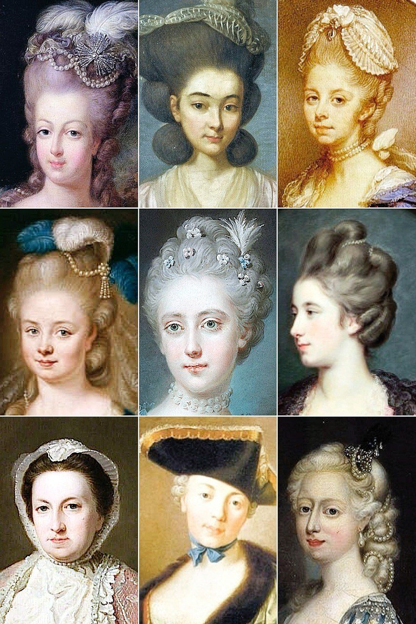 The Best 18Th Century Woman's Hairstyles A Collection Of The Pictures Original 1024 x 768