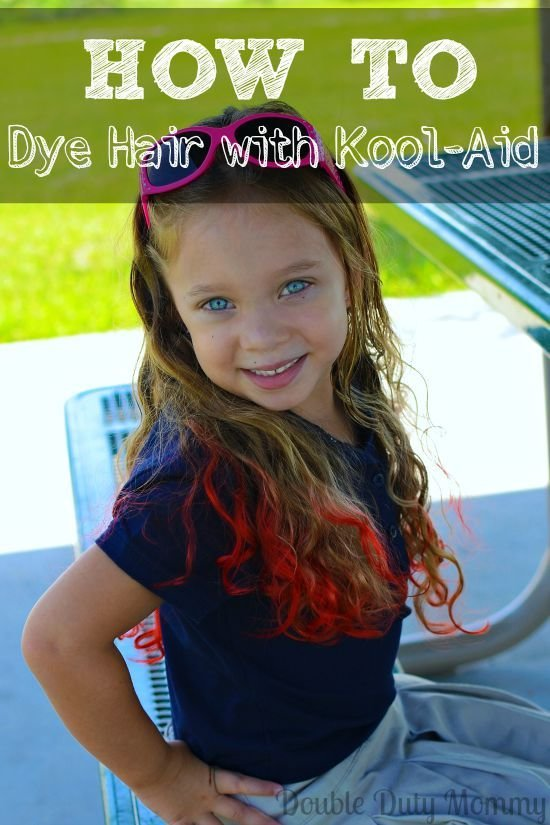 The Best How To Dye Your Hair With Kool Aid Double Duty Mommy Pictures