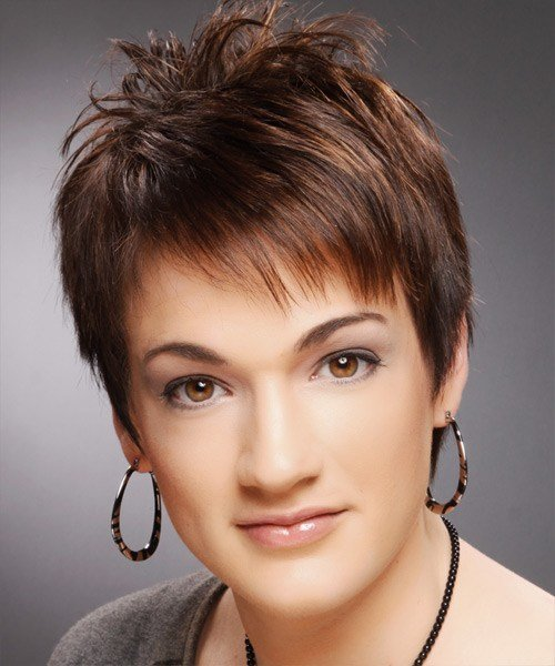 The Best Short Straight Casual Pixie Hairstyle Pictures
