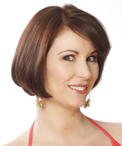 The Best Short Straight Formal Layered Bob Hairstyle With Side Pictures