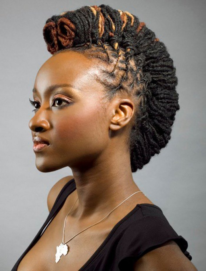 The Best 20 Badass Mohawk Hairstyles For Black Women Pictures