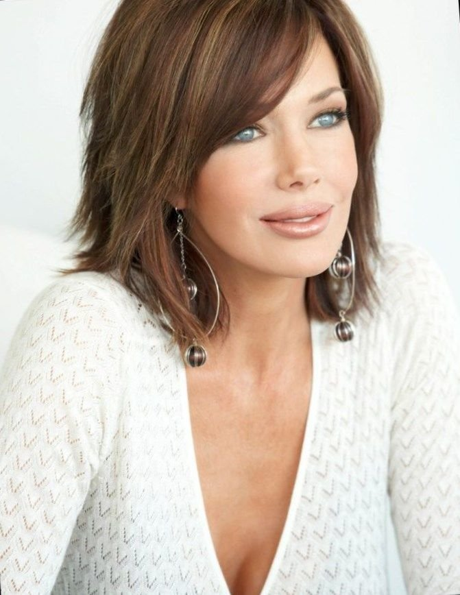 The Best 25 Most Superlative Medium Length Layered Hairstyles Haircuts Hairstyles 2018 Pictures