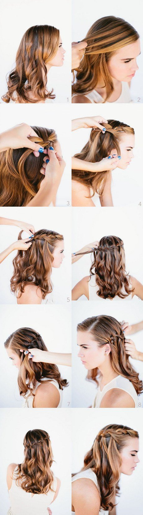 The Best Step By Step Curly Hairstyles Pictures