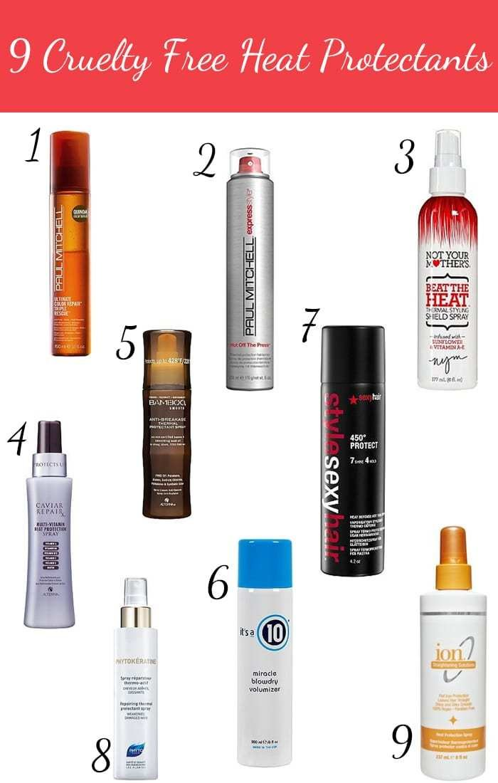The Best 9 Cruelty Free Heat Protectants For Hair Pictures