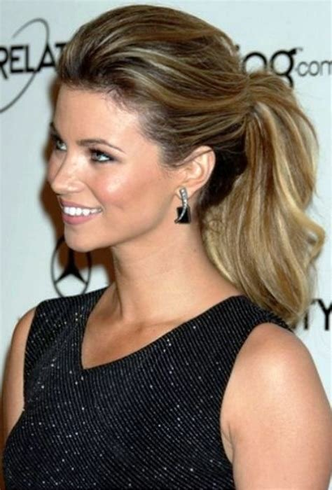 The Best New Hairstyles Celebrity Pretty Ponytails 2019 Pictures