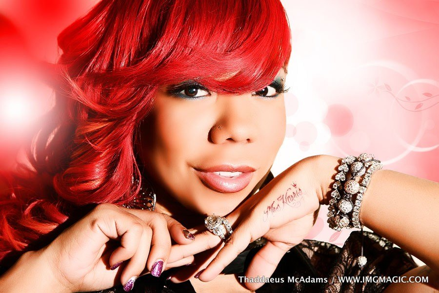 The Best Tameka Cottle Red Weave Hairstyle Thirstyroots Com Pictures