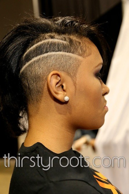 The Best Shaved Side Haircut Black Woman Pictures