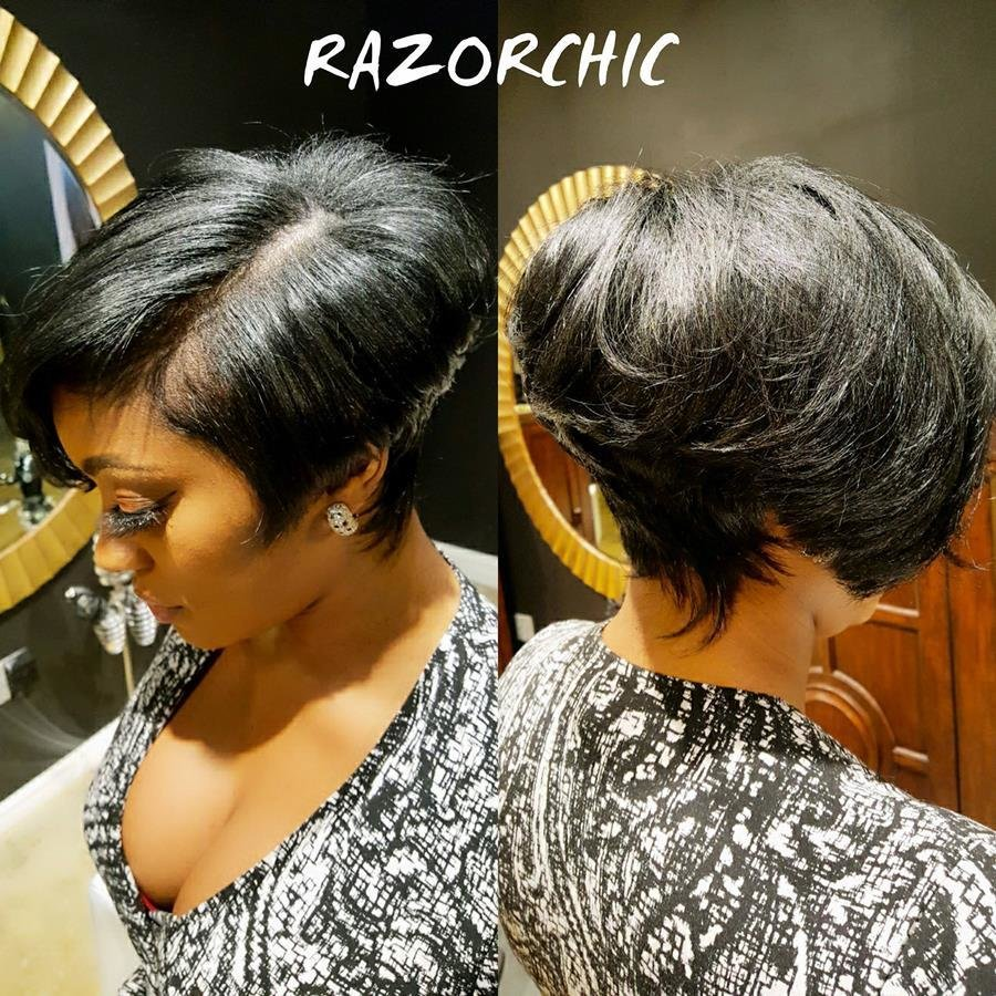 The Best Porsha Williams Short Haircut Is Razor Chic Pictures