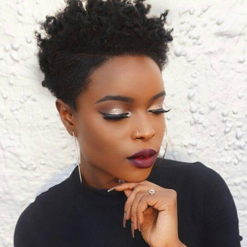 The Best Short Natural African American Hairstyles African Pictures
