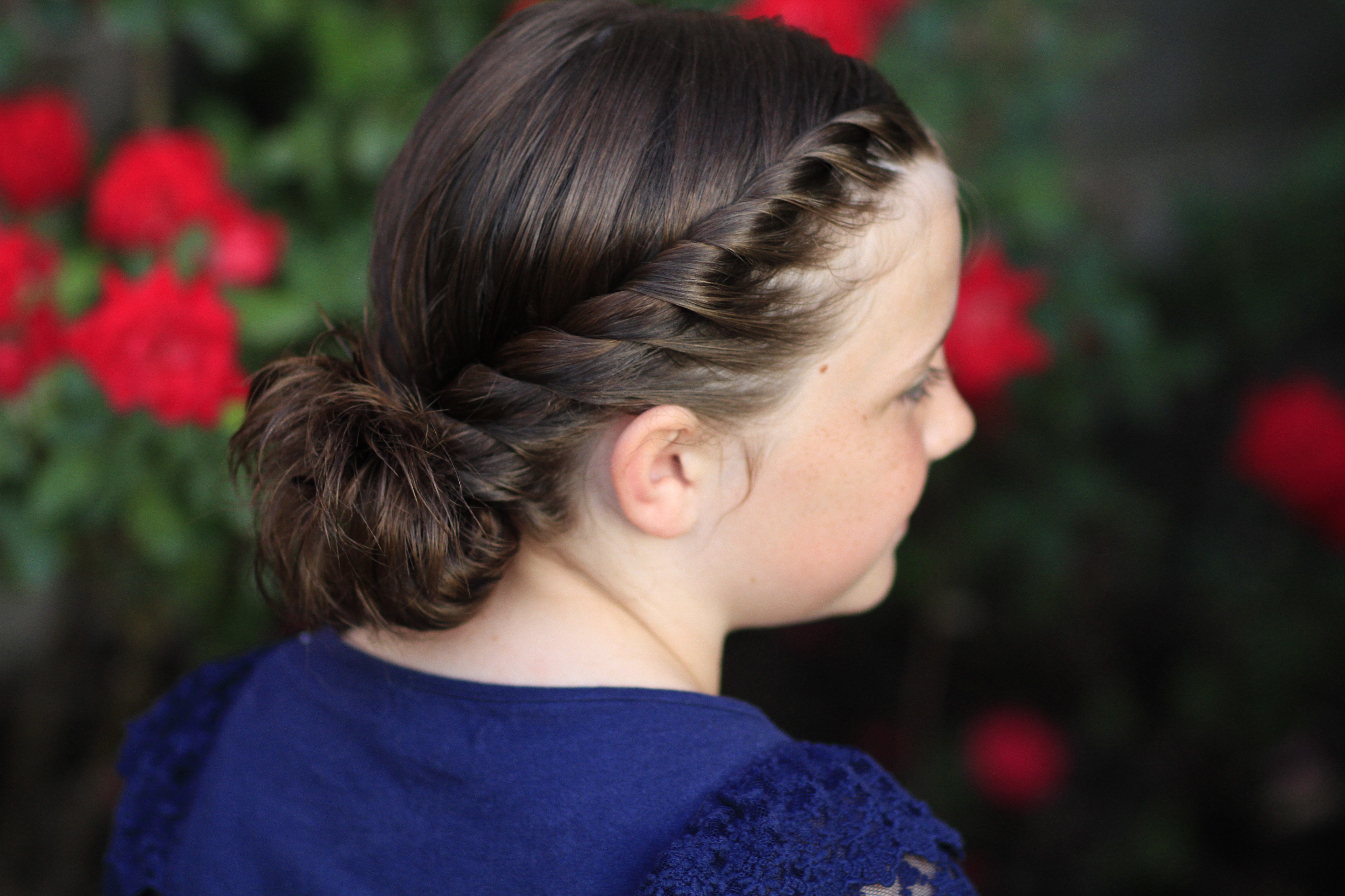 The Best Hairstyle Video Twistbacks Into Side Ponytail Cute Girls Hairstyles Pictures