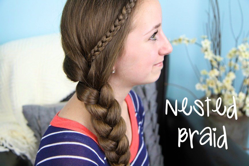 The Best The Nested Braid Easy Hairstyles Cute Girls Hairstyles Pictures