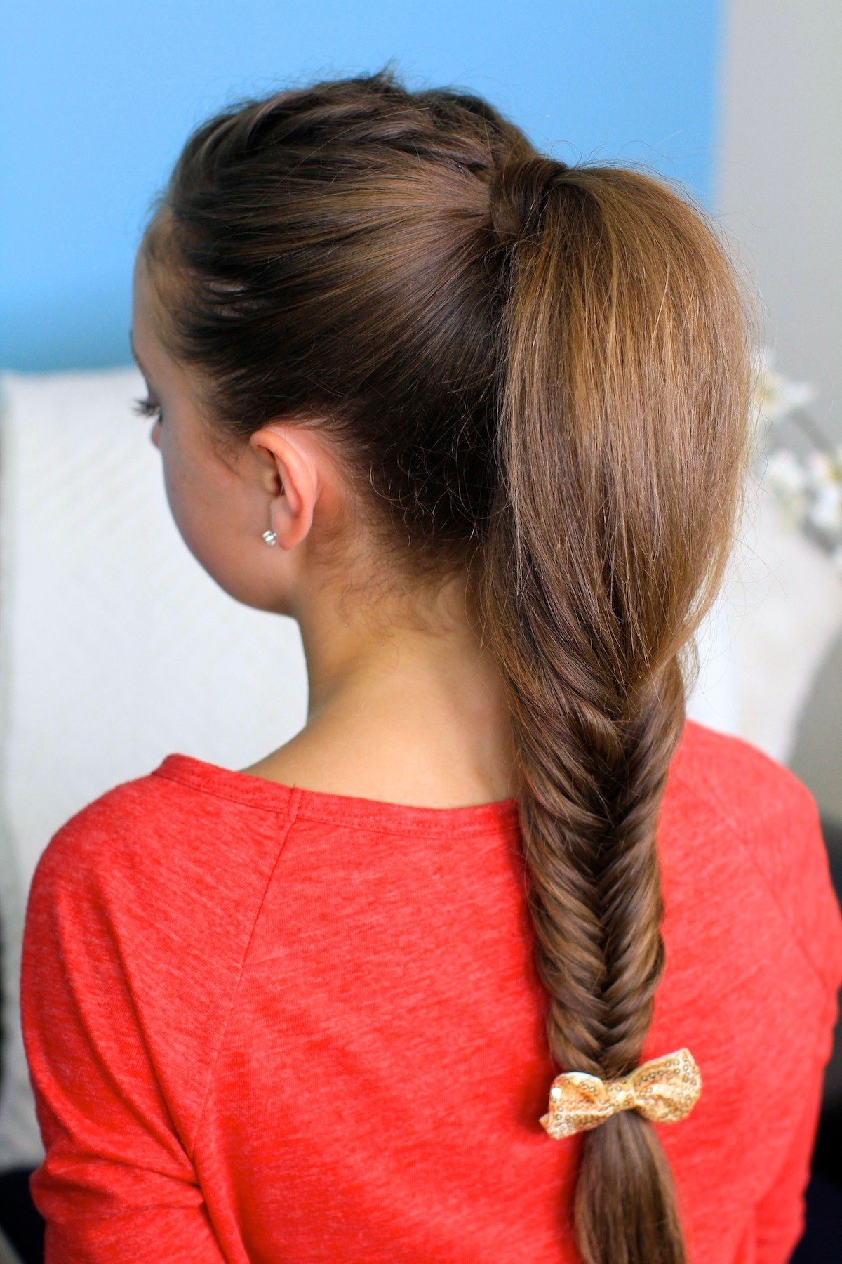 The Best Fluffy Fishtail Braid Hairstyles For Long Hair Cute Pictures
