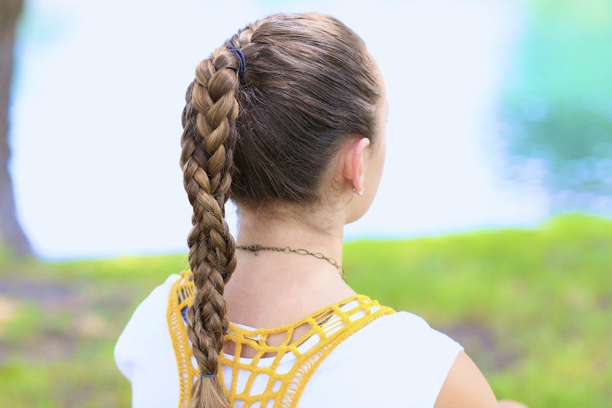 The Best The Run Braid Combo Hairstyles For Sports Cute Girls Pictures