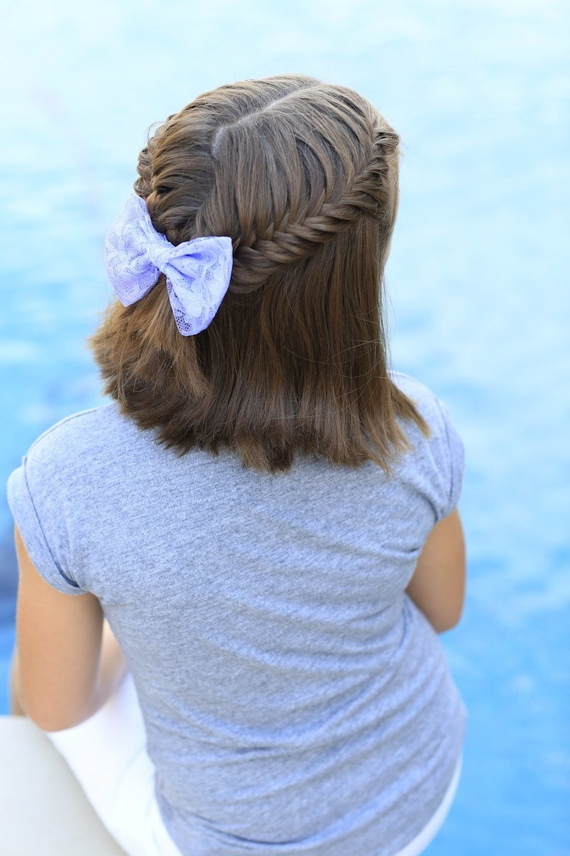 The Best How To Create A Lace Fishtail Tieback Cute Girls Hairstyles Pictures