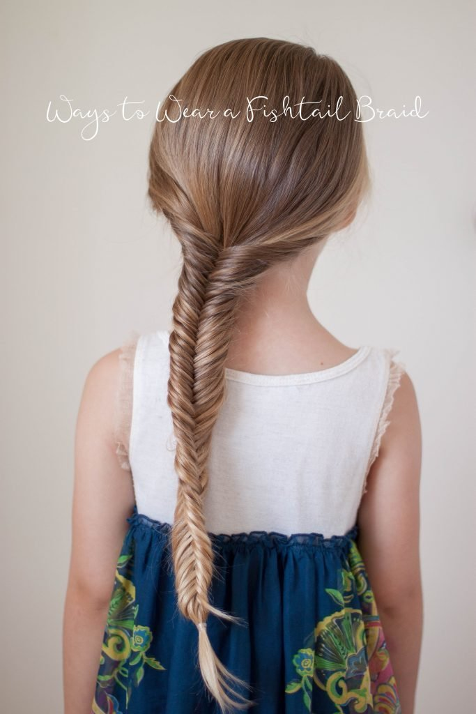 The Best Ways To Wear A Fishtail Braid Cute Girls Hairstyles Pictures