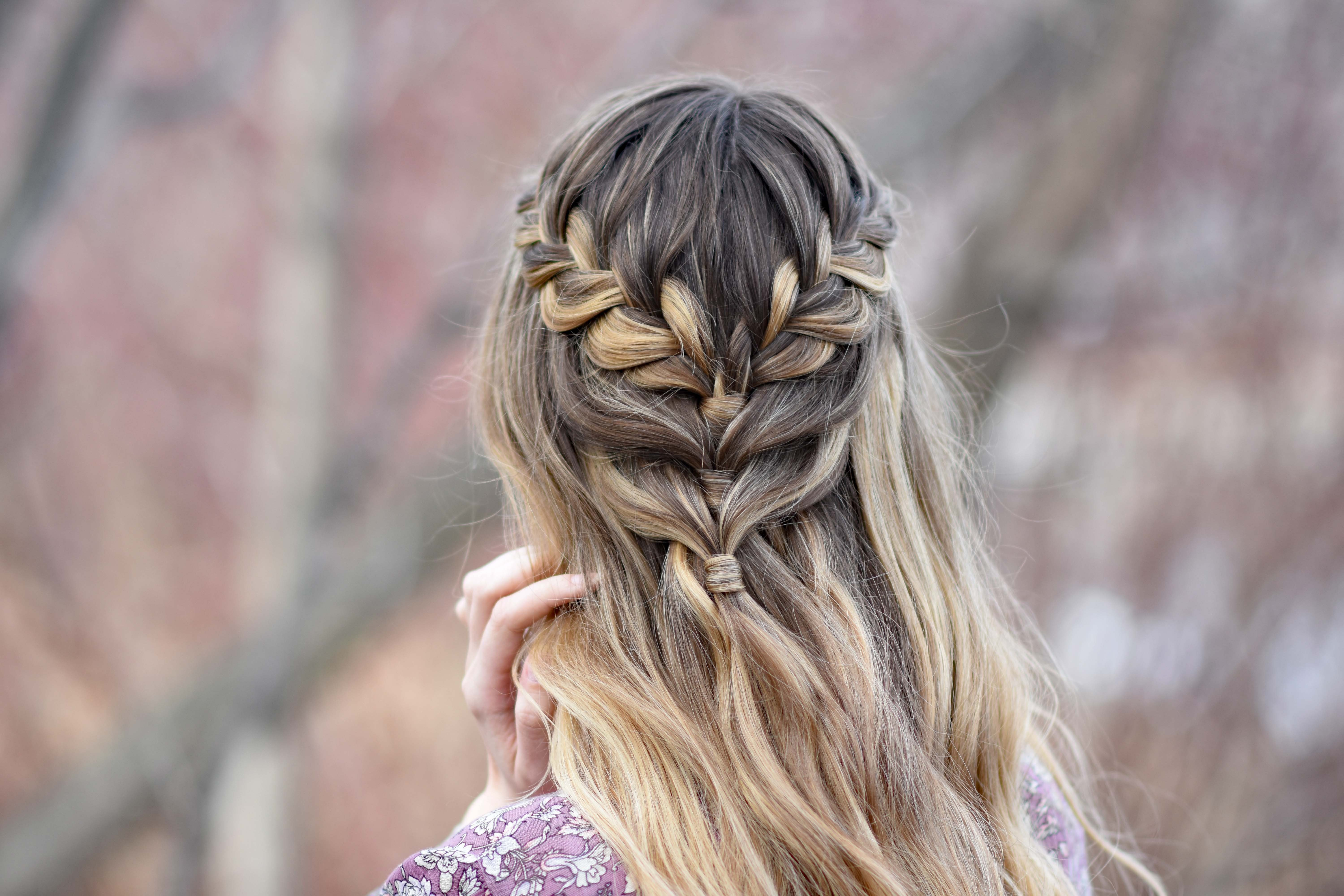 The Best Lace Half Up Cute Girls Hairstyles Pictures