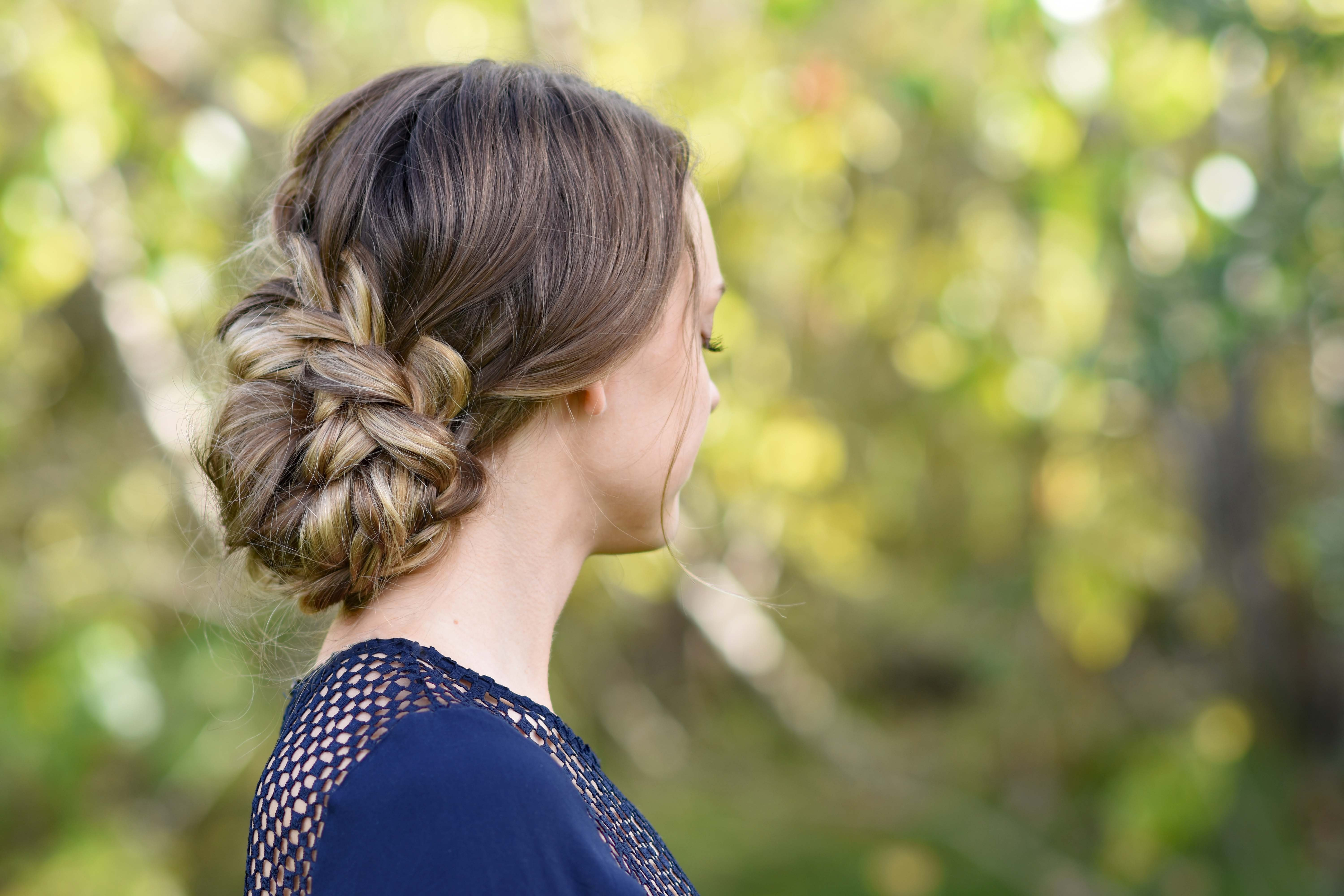 The Best French Braid Updo Cute Girls Hairstyles Pictures