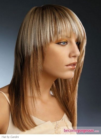The Best Pictures Hair Highlights Ideas Stylish Two Tone Hair Pictures