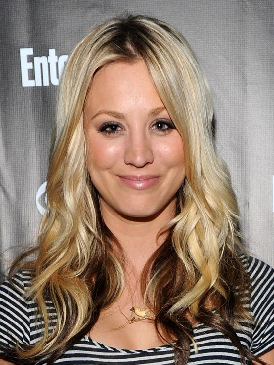 The Best Pictures Platinum Blonde Highlights Kaley Cuoco Pictures
