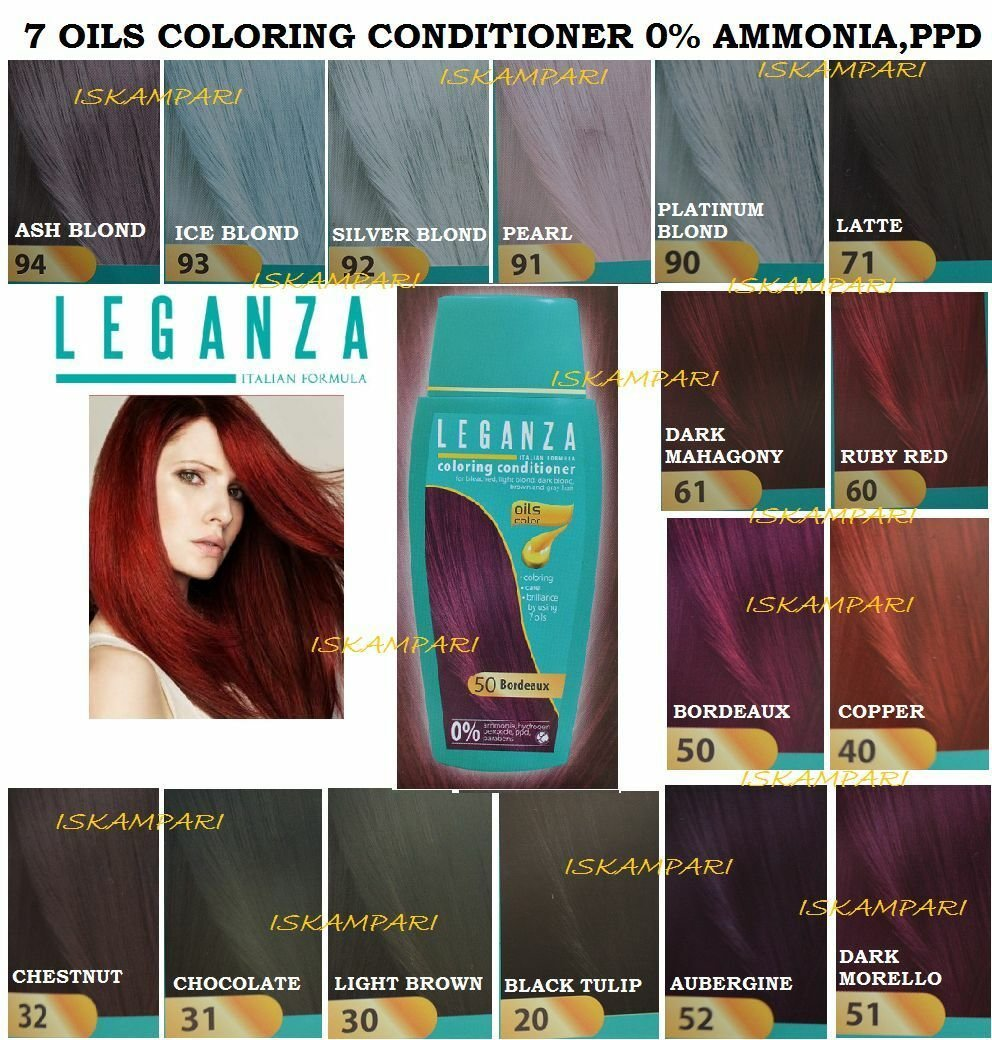 The Best Hair Colouring Conditioners Natural Hair Dye Colourant Pictures